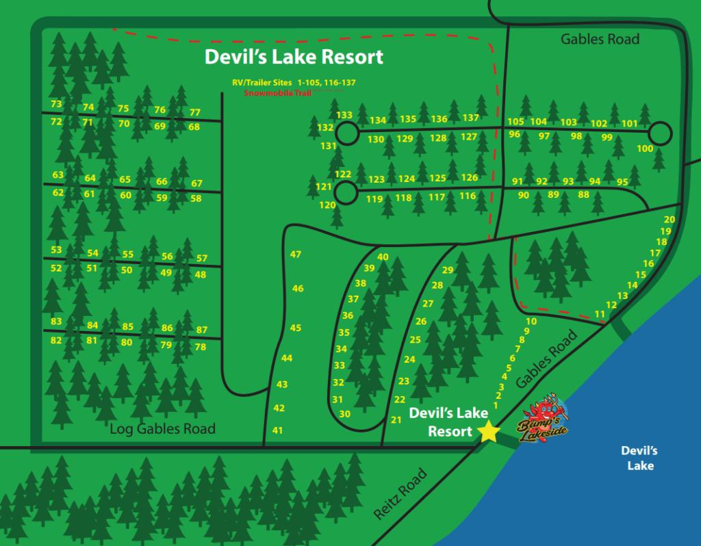 Seasonal Campsite Rates | Devil's Lake Resort